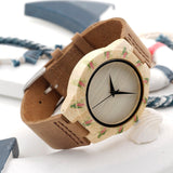 Women's Bamboo Wood and Leather Watch - Urban Bamboo