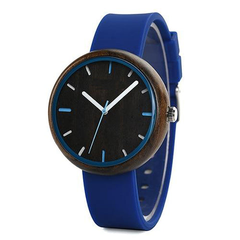 Women's Wristwatches - Silicone Bands - Urban Bamboo