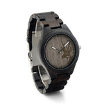 Ebony Wooden Deer Watch - Urban Bamboo
