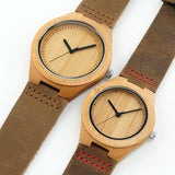 Couples Bamboo Wood Watch Package - Urban Bamboo