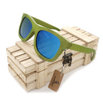 Lime Bamboo Polarized Sunglasses - Urban Bamboo