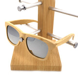 Polarized Retro Mirrored Sunglasses - Urban Bamboo