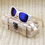 White Beach Bamboo Polarized Sunglasses - Urban Bamboo