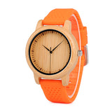 Women's Watches - Silicone Straps - Urban Bamboo