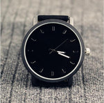 Leather Dress Watch - Urban Bamboo