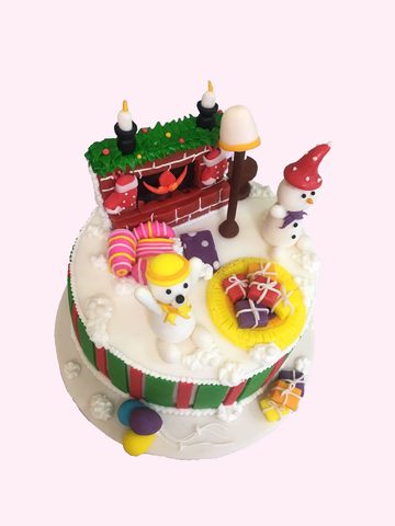 Christmas Cake (Polar Bear)