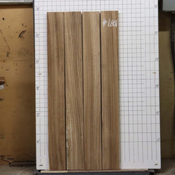 "4/4"" Zebrawood bundle, #LB01 set of 4"