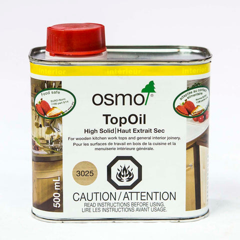 OS3025, OSMO TopOil 3025 Natural, 500 ml - RustyDesign