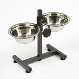 Dog Feeding Device, Water bowls, Food bowls, Height adjustable - RustyDesign