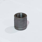"BF3420 Black Iron Fitting, Coupling 3/4"" - RustyDesign"