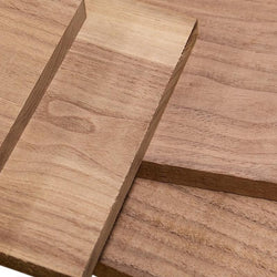 Rough Sawn Black Walnut 4/4, Pack of 10 Board Feet - RustyDesign