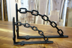 Cast Iron Chain Bracket - RustyDesign
