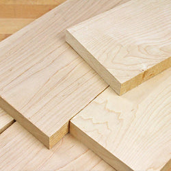 Rough Sawn Hard Maple 4/4, Pack of 20 Board Feet - RustyDesign