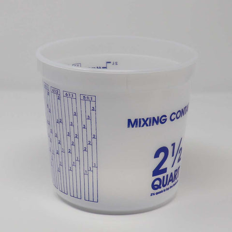 E-cup  Mixing Container, Set of 10