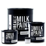 RMP06-P, Real Milk Paint, OYSTER GREY, 1 pint / 16 oz - RustyDesign