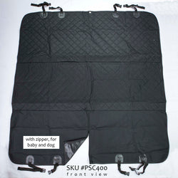 PSC400, Dog Seat Cover, with Zipper, Extra Large - RustyDesign