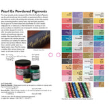 Pearl Ex Powdered Pigments, Medium Pack - RustyDesign