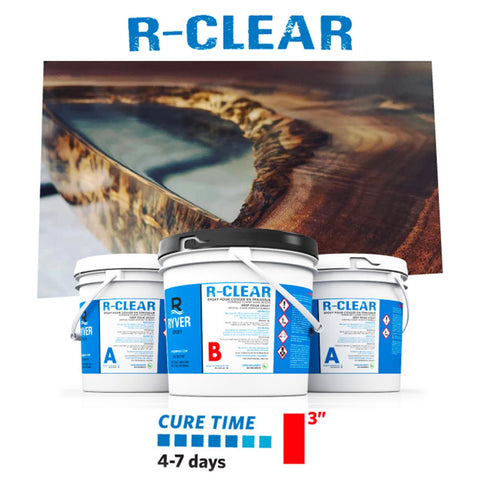Ryver Epoxy ... R-CLEAR, 3 Gallons Kit