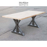 SS510 Trestle Dining Table Legs, 1 Pair - RustyDesign