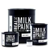 RMP01, Real Milk Paint, SOFT WHITE - RustyDesign