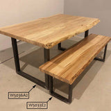 W5036A2 PLUS Dining Table U Legs, 1 Pair - RustyDesign
