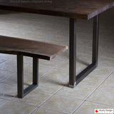 * W5036A2 PLUS Dining Table U Legs, 1 Pair - RustyDesign