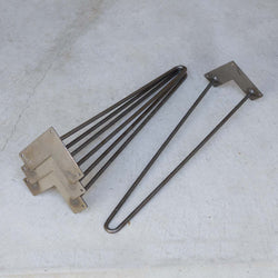 "* W5031B4 Classic 2-rod hairpin leg 22"" set/4 - RustyDesign"