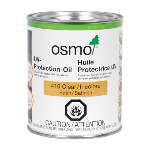 * OS410, OSMO UV-Protection-Oil 410 Clear 750ml - RustyDesign