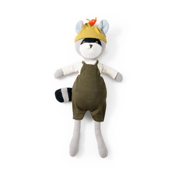 Max Raccoon Organic Cotton Doll - Hazel Village