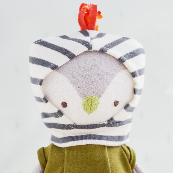 Jeremy Owl Organic Cotton Doll
