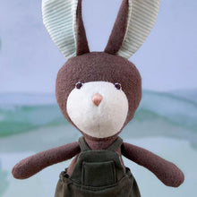 Load image into Gallery viewer, Lucas Rabbit Organic Cotton Doll - Hazel Village