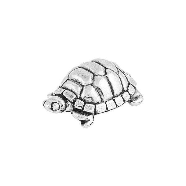 Pewter Turtle Netsuke