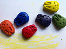Load image into Gallery viewer, Beeswax and Soy Bunny Crayons - Set of 6