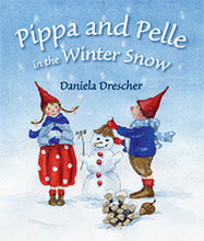 Load image into Gallery viewer, <i>Pippa and Pelle in the Winter Snow</i> by Daniela Drescher