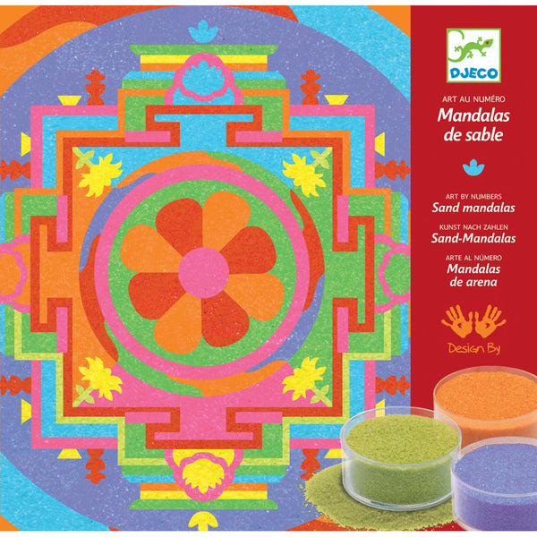Tibetan Mandala Sand Art Craft Kit