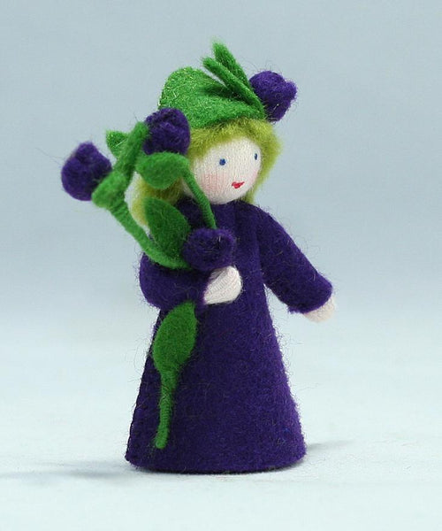 Blueberry Prince Felted Waldorf Doll - Two Skin Colors