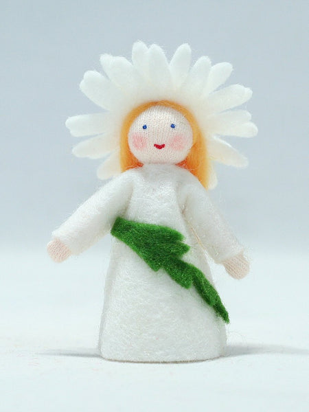Daisy Fairy Felted Waldorf Doll - Three Skin Colors