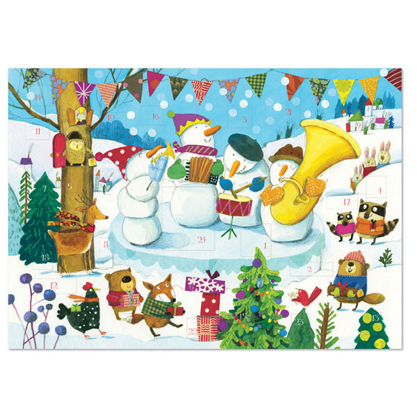 Snowman Band Advent Calendar