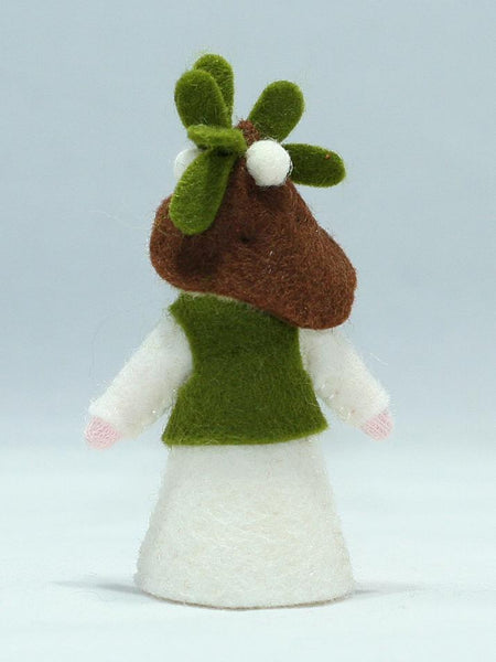 Mistletoe Fairy Felted Waldorf Doll