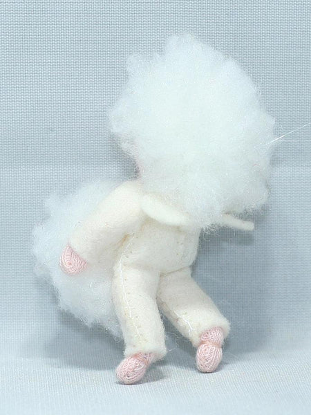 Snowball Baby Felted Waldorf Doll - Two Skin Colors
