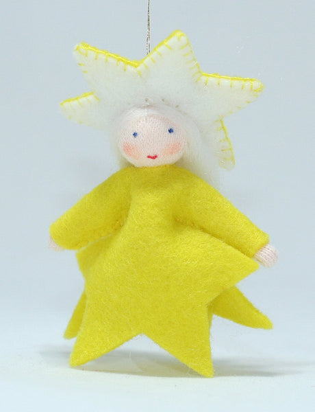 Star Fairy Felted Waldorf Doll