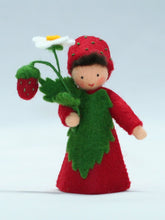 Load image into Gallery viewer, Wild Strawberry Prince Felted Waldorf Doll - Two Skin Colors