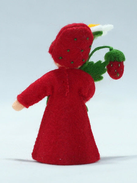Wild Strawberry Prince Felted Waldorf Doll - Two Skin Colors