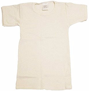Baby Wool Short Sleeve Shirt