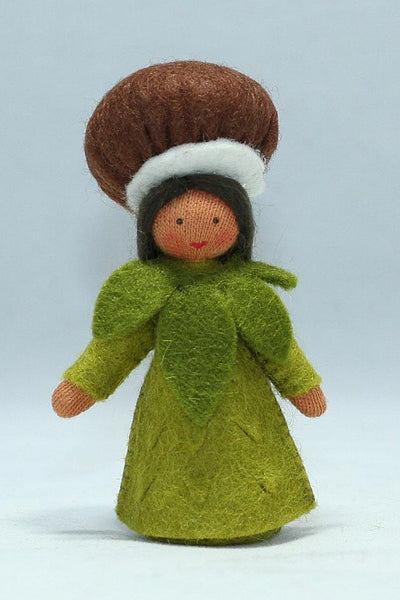 Chestnut Fairy Felted Waldorf Doll