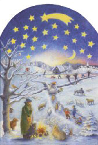 A Winter Scene Advent Calendar
