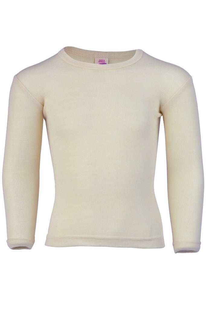Engel Organic Wool Child's Long Sleeve Shirt