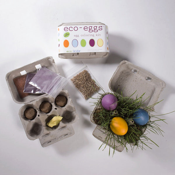 Eco Egg Dye and Easter Grass Kit