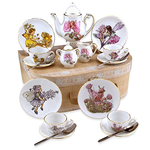 Flower Fairies Medium German Tea Set in Case