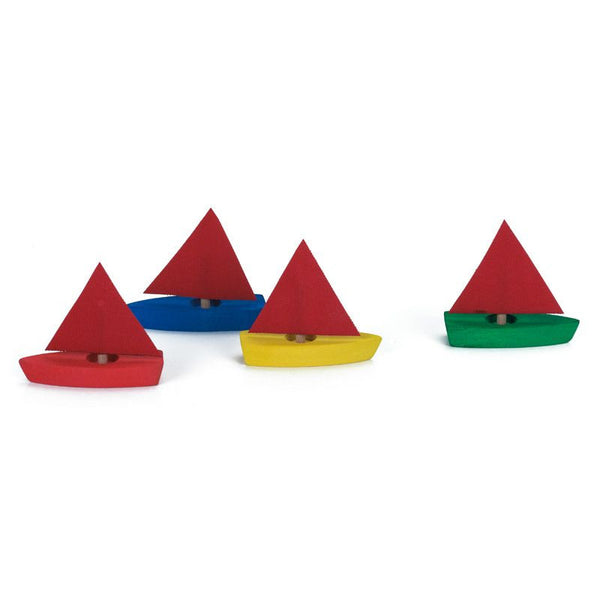Mini Sailboat Set (4)